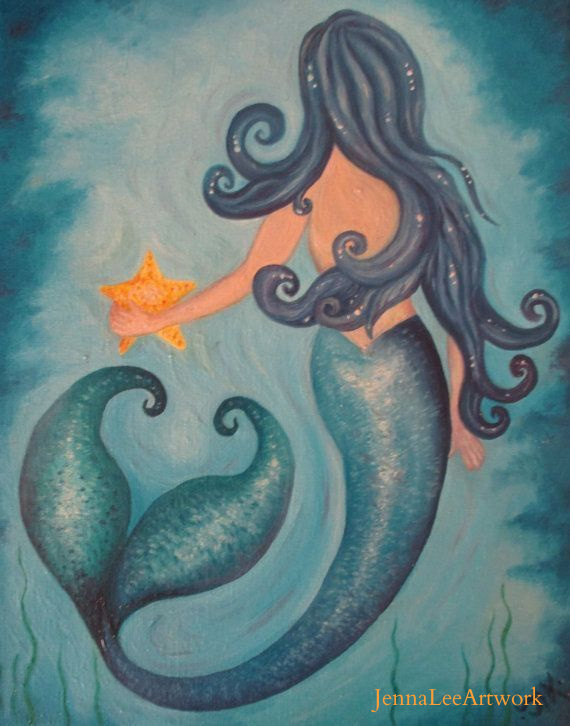 JennaLeeArtwork mermaid